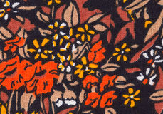 Colorful retro tapestry textile pattern. Stock Photo