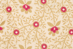 Colorful retro tapestry textile pattern. Stock Images
