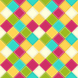Colorful rhombus background Stock Photos