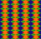 Colorful rhombus background Royalty Free Stock Photography