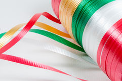Colorful ribbon. Ready for use Royalty Free Stock Photo