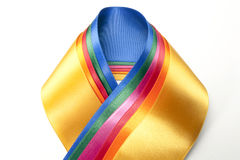 Colorful ribbon assortment Royalty Free Stock Image