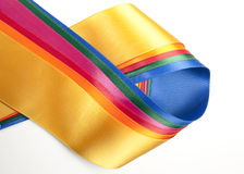 Colorful ribbon assortment Royalty Free Stock Photo