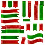 Colorful Ribbon Banner Royalty Free Stock Photography