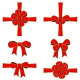 Colorful Ribbon Bow Stock Photos