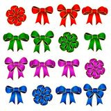Colorful Ribbon Bow Royalty Free Stock Photos