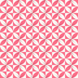 Colorful Ribbon Flower Seamless Pattern Stock Images