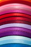 Colorful ribbons (2). Roll of colorful ribbons (2 Stock Photos