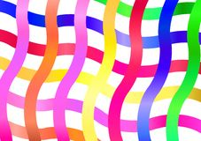 Colorful ribbons Royalty Free Stock Image