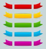 Colorful ribbons Royalty Free Stock Photography
