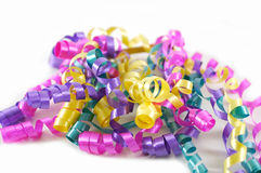Colorful Ribbons. Brightly colored ribbons Stock Image