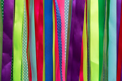 Colorful ribbons abstract background Stock Image
