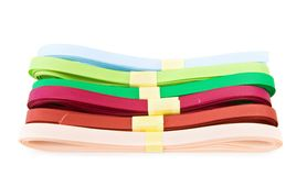 Colorful ribbons for decorations Royalty Free Stock Photos
