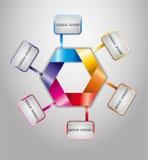 Colorful ribbons. Illustration 10 version Royalty Free Stock Photo