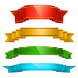 Colorful Ribbons Royalty Free Stock Photo