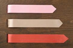 Colorful ribbons Stock Photos