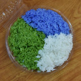 Colorful rice Stock Image