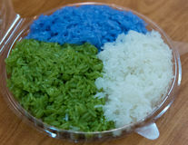 Colorful rice Royalty Free Stock Image