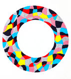 Colorful ring frame Stock Images