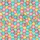 Colorful  ring pattern Stock Images