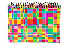 Colorful ring type notepad. Royalty Free Stock Image