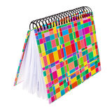 Colorful ring type notepad. Stock Photo