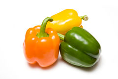 Colorful ripe bell peppers Royalty Free Stock Image