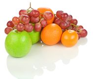 Colorful ripe fruit Stock Images