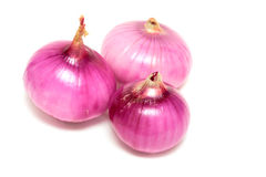 Colorful ripe onions Royalty Free Stock Images