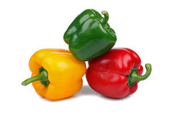 Colorful ripe peppers Royalty Free Stock Images
