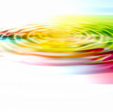 Colorful ripple background. From rainbow colors stock illustration