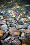 Colorful River Rocks Royalty Free Stock Photography