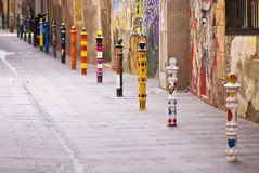 Colorful road... Royalty Free Stock Image