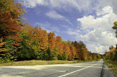 Colorful roadtrip Royalty Free Stock Image