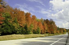 Colorful roadtrip Royalty Free Stock Photography