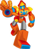 Colorful robot Royalty Free Stock Image