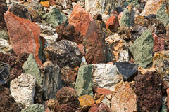 Colorful Rock Background Royalty Free Stock Photo