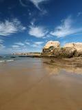 Colorful rock cliffs of the Algarve Stock Photos