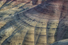 Colorful rock formations at the Painted Hills in Oregon Royalty Free Stock Photography