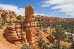 Colorful Rock Formations of Red Canyon Utah Royalty Free Stock Images