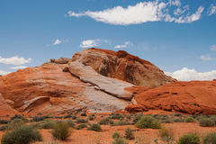 Colorful Rock Formations in Valley of Fire State Park Royalty Free Stock Image
