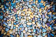 The colorful rock on surface. Nature background. Stock Photo