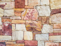 Colorful Rock Wall Background Royalty Free Stock Images