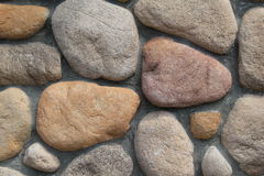 Colorful rock wall Royalty Free Stock Photography