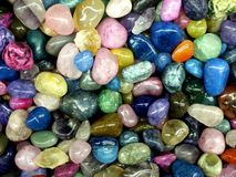 Colorful rocks Stock Photography
