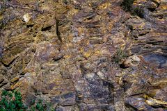 Colorful rocks formations background. Close view royalty free stock photography
