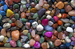 Colorful rocks pattern Stock Image
