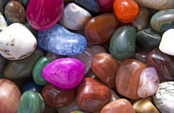 Colorful rocks pattern Stock Images