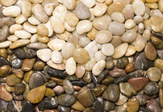 Colorful rocks in wave design. Stock Photography