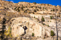 Colorful, Rocky Terrain Royalty Free Stock Photography
